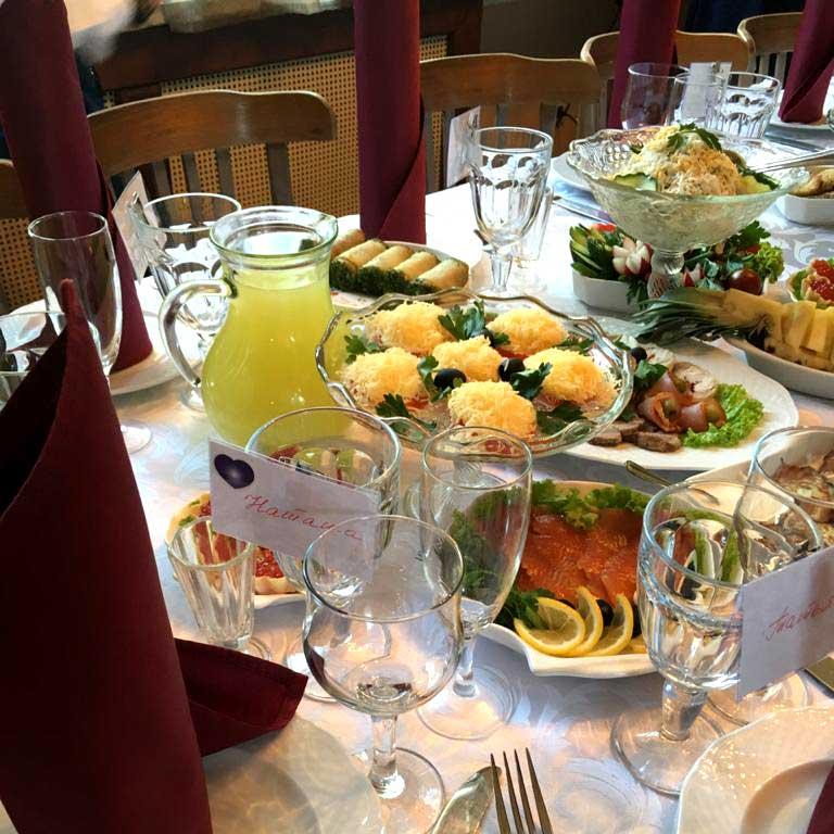 Ресторан для банкетов в Перловке.